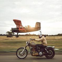 BEARDREVERED on TUMBLR   bike-exif:   The guys at @saint.cc always do...