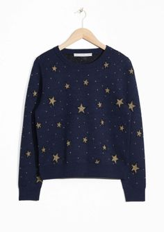 & Other Stories | Night Sky Jacquard Sweater £65