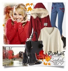 """ROMWE III/1"" by creativity30 ❤ liked on Polyvore"
