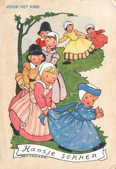 Rie Cramer -Dutch (1887-1977) postcard