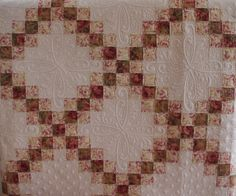 Double Irish Chain Quilt - Quilts on Bastings