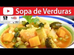 CÓMO HACER VERDURAS AL VAPOR Y A LA MANTEQUILLA   Vicky Receta Facil - YouTube