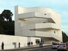 Ibere Camargo Museum te Porte Alegre (Brazilie) van de Portugese architect Alvaro Siza