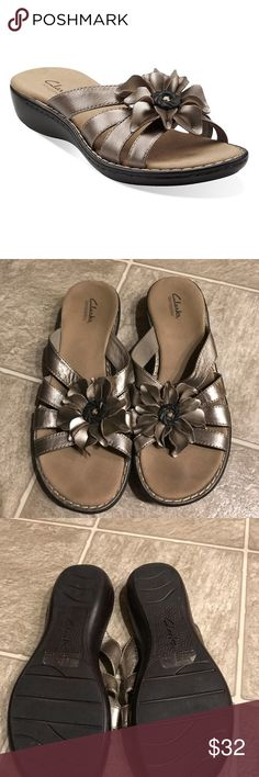 fb63001ce Clarks Lena Admire Bendable Pewter Sandal Show off your moves with the  Clarks Lena Admire sandal