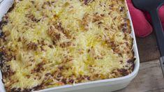 Gegratineerde ovenschotel met pasta, prei en zalm va n An Steyvers