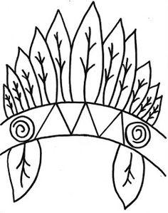 ESPAÇO EDUCAR: Moldes de cocar para imprimir, recortar e montar para o dia do índio Thanksgiving Crafts For Kids, Fun Crafts For Kids, Arts And Crafts, Native American Projects, Native American Art, Teepee Pattern, Cultural Crafts, Drawing School, Hat Crafts