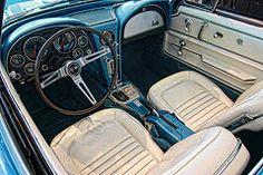 Featured Art - 1967 Corvette Stingray  by Allen Beatty