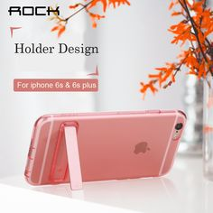 for iphone 6 6s 4.7 TPU stand holder Cover Rock soft back case for iPhone 6s plus 5.5 cases