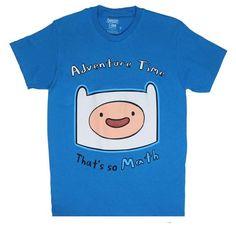 Thats So Math - Adventure Time T-shirt: Adult Large - Teal @ niftywarehouse.com #NiftyWarehouse #AdventureTime #TVShow #Cartoon #Show #CartoonNetwork
