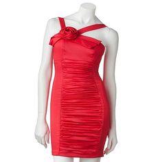 My Michelle Floral Ruched Dress, Kohls.com $23.40