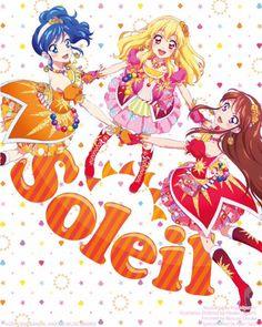 Aoi, Ichigo and Ran