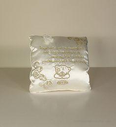 ME TO YOU BEAR TATTY TEDDY CREAM /& GOLD WEDDING VERSE CUSHION GIFT