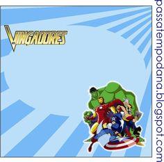 Passatempo da Ana: Kit - Os Vingadores