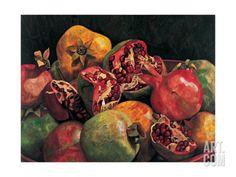 Pomegranates from Chabela, 2007 Giclee Print by Pedro Diego Alvarado at Art.co.uk