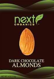 Next Organics: Dark Chocolate Almonds. http://affordablegrocery.com