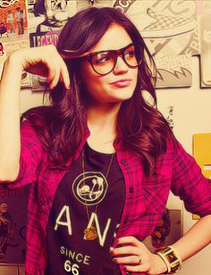 lucy hale. Love her style!