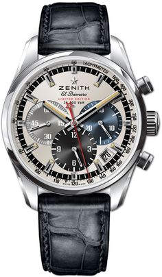 ZENITH El Primero | Raddest Men's Fashion Looks On The Internet: http://www.raddestlooks.org