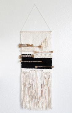 Weaving wall hanging/ handmade wall hanging art by Labroucke