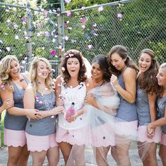 Matching monogrammed boxer shorts for a sweet bridal party! ❤️ by The Milestone Maker on Etsy