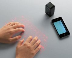 Projection keyboard finally out