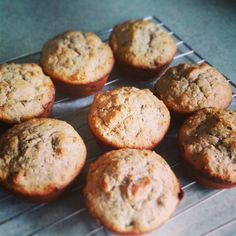 Spiced Banana and Pumpkin Seed Muffins - grain free, dairy free – The Big Lunchbox Revolution