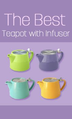 Best Teapots with infusers