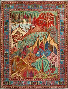 "Buy Tabriz Persian Rug 9' 10"" x 12' 8"", Authentic Tabriz Handmade Rug"