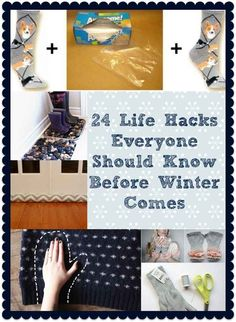 24 Creative Life Hacks Everyone Should Know Before Winter Comes - BuzzFeed Mobile