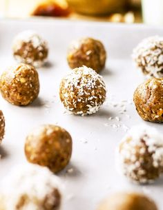 3-Ingredient Nut-Free Energy Bites. These healthy date balls are the perfect snack to take to school or work because they are nut-free and naturally sweetened with fruit.