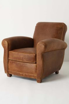 leather arm chair - #anthrofave