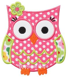 514+Owl+5+Machine+Embroidery+Applique+by+AppliqueCafeDesigns,+$4.00