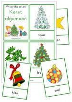 Woordkaarten Kerst Algemeen - klein
