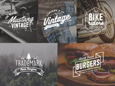5 Free Vintage Vector Labels