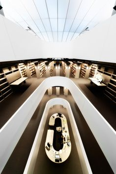 is it me or is this the coolest library ever? #books #nerd
