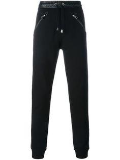 JUST CAVALLI lateral stripe sweatpants. #justcavalli #cloth #sweatpants