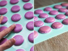 Receta facil y bien explicada para hacer macarons - vma. Mini Cakes, Cupcake Cakes, Cookie Recipes, Dessert Recipes, French Macaroons, Perfect Cookie, Chocolate Truffles, Cookies And Cream, Sweet Cakes
