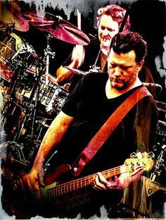 #mattchamberlain #benshepherd #soundgarden #SGNIN2014 #PearlJammers #myconcertpics #seattleguys #seattleband #seattlerocks #drummer #bassplayer