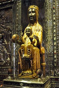 La Moreneta, the Black Madonna of Montserrat Montserrat Barcelona, Madonna, Barcelona Catalonia, Barcelona City, Cathedral Church, Sitges, Blessed Virgin Mary, Spain And Portugal, Gaudi