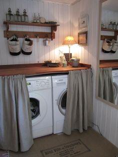 kodinhoitohuone,piilo,kodinkoneet,sisustusvinkki,puutaso