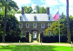 Berkeley Plantation - Charles City, Virginia - Birthplace of William Henry Harrison