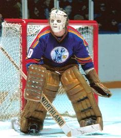 Hockey Goalie, Hockey Games, Ice Hockey, Bernie Parent, Hockey Posters, Hockey Season, Goalie Mask, New Jersey Devils, Vancouver Canucks