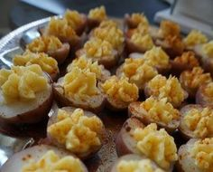 Deviled Potatoes - Vegan and Gluten Free noms for your face. These were PERFECT. Make plenty, because they'll be the first thing gone if you serve them to a crowd.