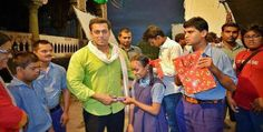 Salman Khan Spends Quality Time With Disabled Children