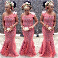 Mercy Aigbe Look Cute In This Creative Aso-Ebi http://dozeslam.com/mercy-aigbe-look-cute-in-this-creative-aso-ebi/