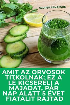 Amit az orvosok titkolnak: ez a lé kicseréli a májadat, pár nap alatt 5 évet fiatalít rajtad #gyógyítás #májbetegség Health And Wellness Center, Health Guru, Health Trends, Health Tips, Health Fitness, Natural Teething Remedies, Natural Health Remedies, Herbal Remedies, Acid Reflux Remedies