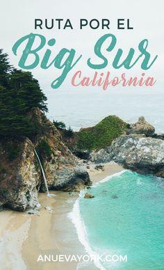 Ruta Por El Sur Y La Costa De California En Coche Estadosunidos Pacific