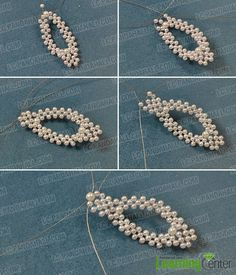 Beading Bracelets are always fashionable! Today, I will share you a Pandahall tutorial on how to make simple beading flower bracelets with pearl and glass beads.