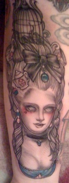 Marie Antoinette done by Cristina Garcia