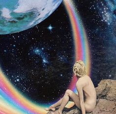Rainbows in space x