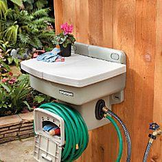 Outdoor Portable Garden Sink Outdoor Space Pinterest Gardens